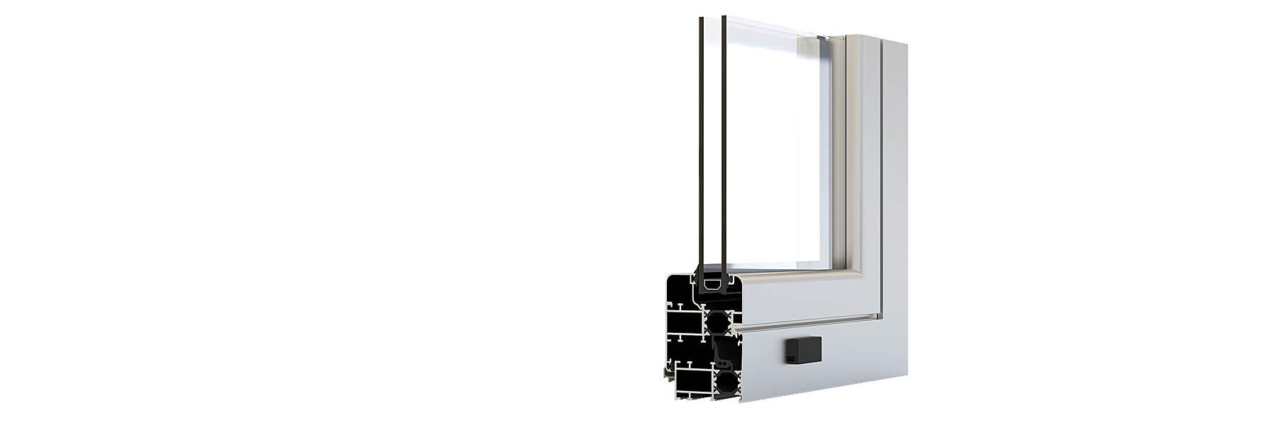 serramenti-battente-alluminio-PR66TT
